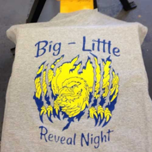 Custom t shirt screen printing in knoxville tn
